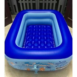 Bể bơi trong nhà 1m2 kèm bơm + phao đỡ cổ cho bé