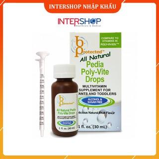Vitamin Tổng Hợp Pedia Poly-Vite Drops Bổ Sung Vitamin Cho Bé Biếng Ăn & Giúp Tăng Sức Đề Kháng thumbnail