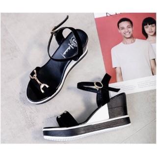 Sandal nữ, sandal đế xuồng siêu nhẹ đế 9 phân sieu hót hít