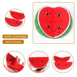 Jumbo Slow Rising Squeeze Squishy Watermelon Stress Reliever Kids Gift UK