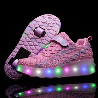 Giày thể thao có bánh xe đèn dành cho bé/size 27-40