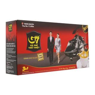 (có tem xác thực) Cafe trung nguyên – cafe G7 hộp 21 gói