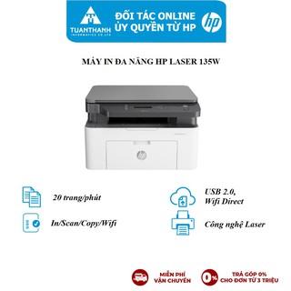 Máy in đa chức năng HP LaserJet MFP 135w Printer, 1Y WTY_4ZB83A