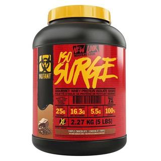 Whey | Sữa tăng cơ Mutant Iso Surge 5lbs 2.27kg – Chính Hãng