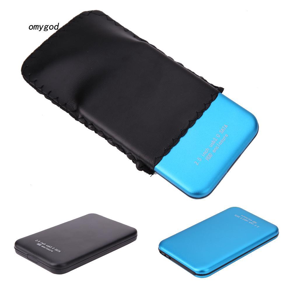Omy_USB 3.0 SATA 2.5 Inch Hard Drive External Enclosure HDD Mobile Disk Box Case