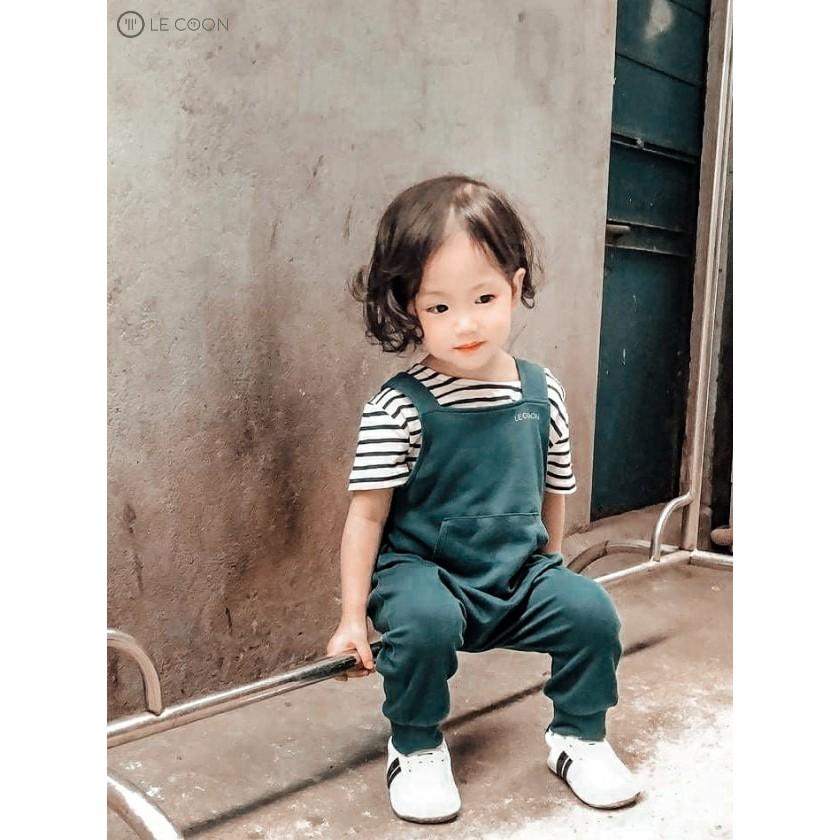 LE COON | Quần Yếm | COMFY | 3 tháng-3 tuổi