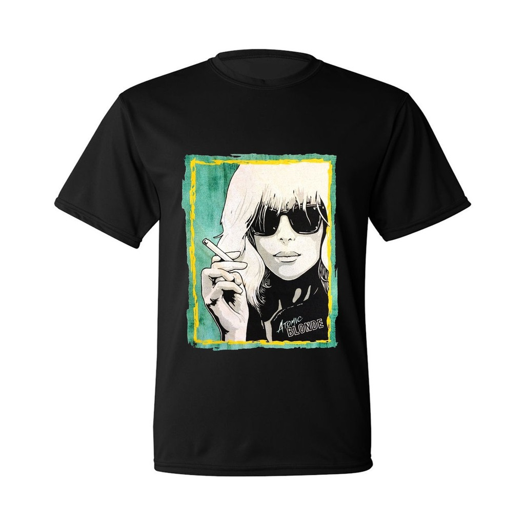 Atomic Blonde Charlize Theron Original Art Mens T Shirt Father's Day Gift