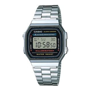 Đồng hồ Casio Nam Vintage A168WA-1 Chính Hãng