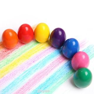 Educational Egg Shape Kids Palm Grip Crayons
