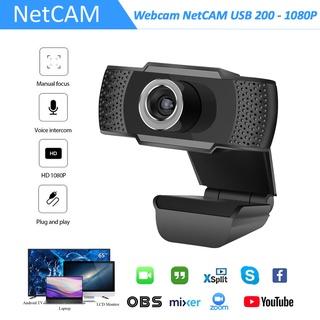 Webcam NetCAM USB 200 Độ phân giải 1080P - Hãng phân phối chính thức thumbnail