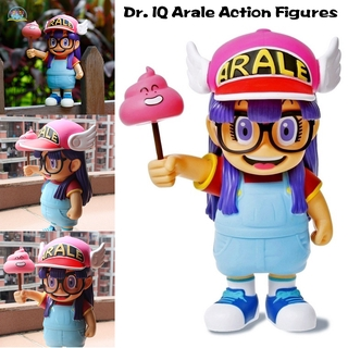NR Dr. IQ Arale Action Figures Cute Cartoon PVC Ornaments Christmas Gift for Kids