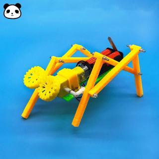 DIY Four Foot Crawling Robot Assembling Toys Models