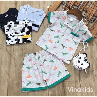 [Mã KIDMALL15 hoàn 15% xu đơn 150K] Đồ bộ bé trai Vinakids pijama cho bé từ 1-5 tuổi