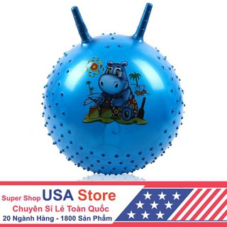 [Store USA] Bóng 45Cm Cho Bé Có Tai Chỉ bán trong ngày