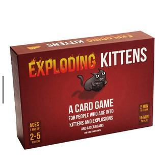 Bài mèo nổ cảm tử Exploding Kittens