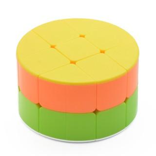 2×2 Cylinder Shape Magic Cube Kids Educational Puzzle Toy