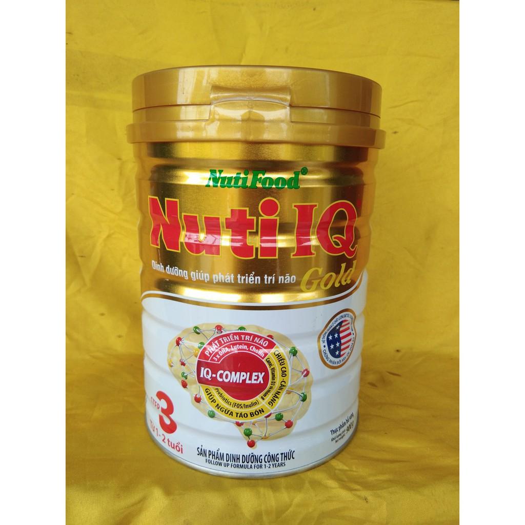 Sữa Bột NutiFood - IQ Gold số 3 (Từ 1 - 2 Tuổi) - Lon 900g - 3483348 , 842562778 , 322_842562778 , 170000 , Sua-Bot-NutiFood-IQ-Gold-so-3-Tu-1-2-Tuoi-Lon-900g-322_842562778 , shopee.vn , Sữa Bột NutiFood - IQ Gold số 3 (Từ 1 - 2 Tuổi) - Lon 900g