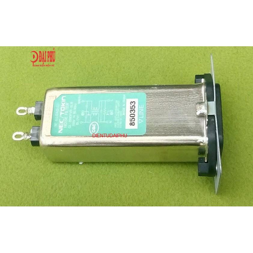 Bộ lọc nguồn cho âm thanh NEC/TOKIN 250V 7A 50/60HZ - 3351909 , 1020703135 , 322_1020703135 , 150000 , Bo-loc-nguon-cho-am-thanh-NEC-TOKIN-250V-7A-50-60HZ-322_1020703135 , shopee.vn , Bộ lọc nguồn cho âm thanh NEC/TOKIN 250V 7A 50/60HZ