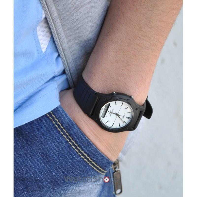 Đồng hồ nam dây nhựa Casio Anh Khuê AW-49 Series