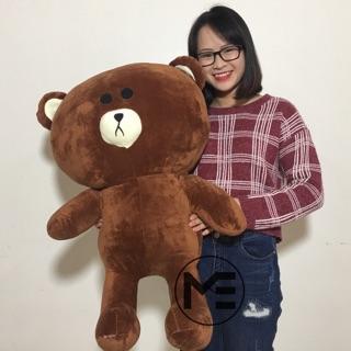 Gấu Bông Brown 1m Khổ Vải Cao Cấp Cao 85cm