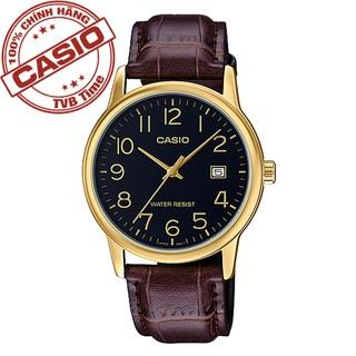 [Mã FARSBR243 giảm 15% đơn 249K] Đồng hồ nam dây da Casio Standard chính hãng Anh Khuê MTP-V002GL-1BUDF thumbnail