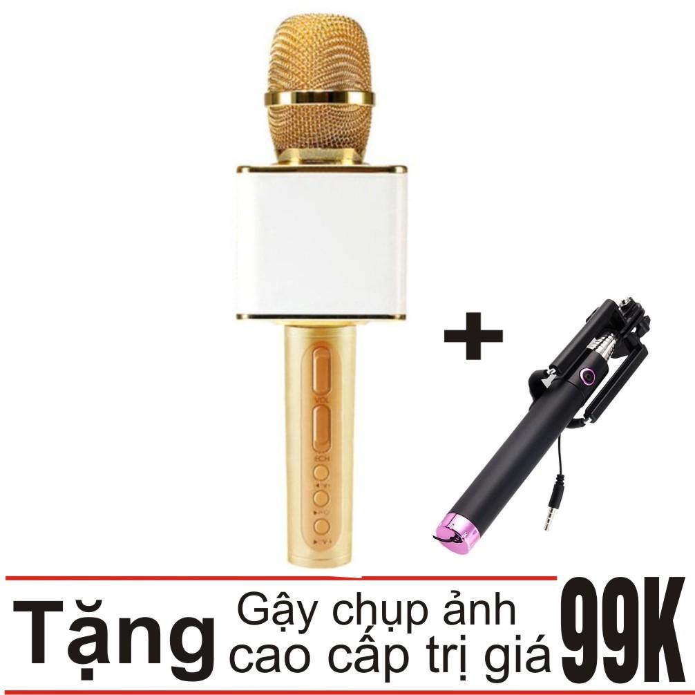 Combo Mic hát Karaoke bluetooth Ys 11 3in1 (Vàng) + Gậy chụp ảnh - 3452727 , 1077204459 , 322_1077204459 , 390000 , Combo-Mic-hat-Karaoke-bluetooth-Ys-11-3in1-Vang-Gay-chup-anh-322_1077204459 , shopee.vn , Combo Mic hát Karaoke bluetooth Ys 11 3in1 (Vàng) + Gậy chụp ảnh