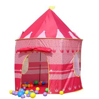 combo 100 trái bóng và lều công chúa cho bé yêu