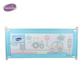 Thanh chắn giường điều chỉnh độ cao cho bé chính hãng Mastela MSTL-006-YY-C09 vải lưới siêu bền, lắp đặt thông minh thumbnail