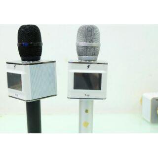 Micro Karaoke T10 có màn hình LCD