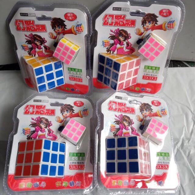 [GIÁ SỐC] Rubik đẹp, xoay trơn, không rít, độ bền cao, Rubik 3×3 Tặng kèm móc khóa [VPP Minh Hạnh]