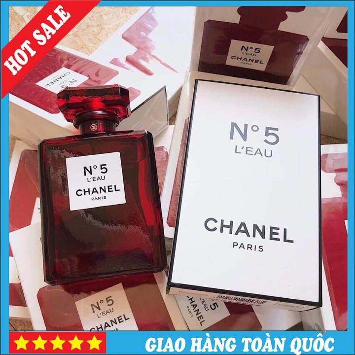 [HOT SALE] Nước Hoa Nữ N5 Chai Đỏ 100ml