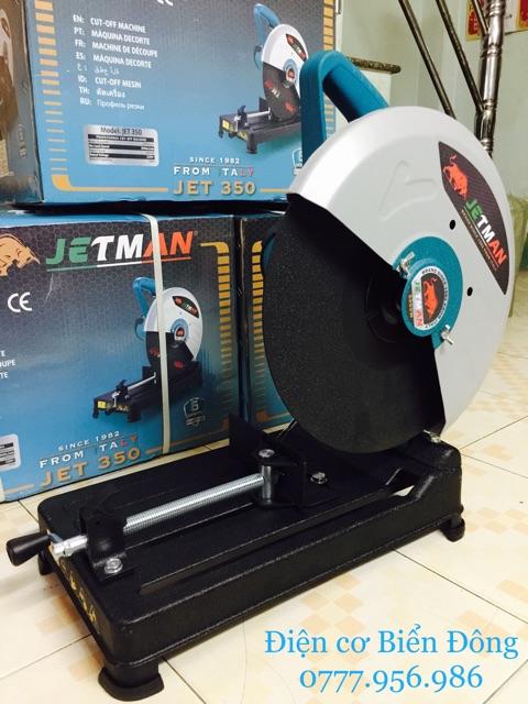 Máy cắt bàn FREESHIP  Máy cắt bàn chính hãng JETMAN Ý , đĩa cắt 355mm, 2300W