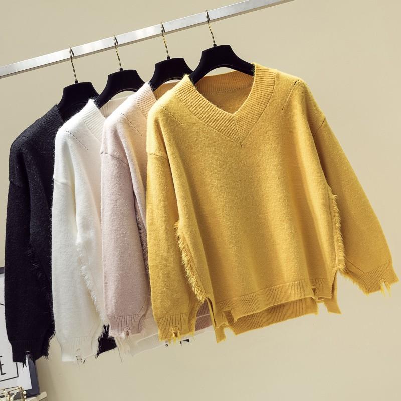 Áo len chất lượng cao 4 màu lựa chọn dáng rộng thiết kế đơn giản trẻ trung hợp thời trang cho nữ quần áo trẻ em - 22210735 , 2778977989 , 322_2778977989 , 265300 , Ao-len-chat-luong-cao-4-mau-lua-chon-dang-rong-thiet-ke-don-gian-tre-trung-hop-thoi-trang-cho-nu-quan-ao-tre-em-322_2778977989 , shopee.vn , Áo len chất lượng cao 4 màu lựa chọn dáng rộng thiết kế đơn