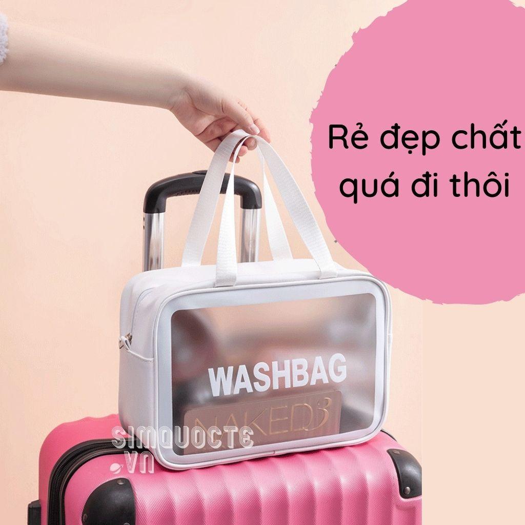 Túi đựng mỹ phẩm đồ du lịch WASHBAG