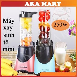 Máy xay sinh tố mini cầm tay loại tốt - Máy xay sinh tố đa năng xay thực phẩm công suất lớn - Aka mart