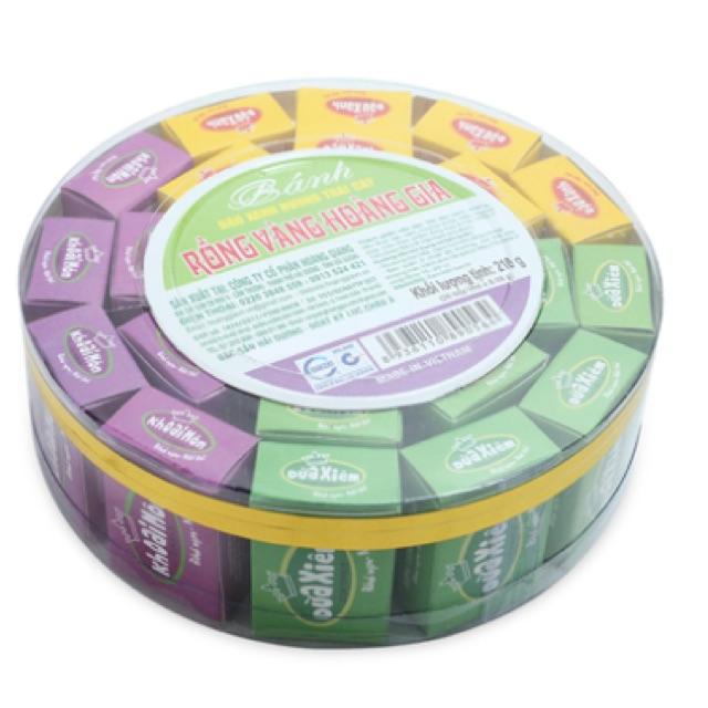 Bánh đậu xanh Rồng Vàng Hoàng Gia 210g(26 hộp)