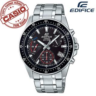 Đồng hồ nam dây kim loại Casio Edifice chính hãng Anh Khuê EFV-540D-1AVUDF (43mm)