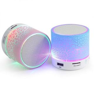 [Mã ELFLASH5 giảm 20K đơn 50K] Loa mini bluetooth HLD-600 đèn led nháy theo nhạc I Loa Bluetooth