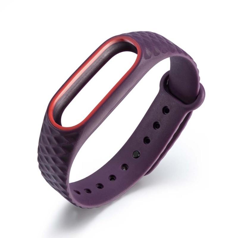 Vòng đeo tay Silicon cho đồng hồ thông minh Xiaomi MI Band 2