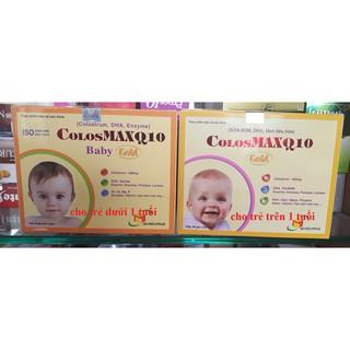 Thực Phẩm Chức Năng colosmax q10 gold - colosmaxq10 baby gold -cho trẻ biếng ăn