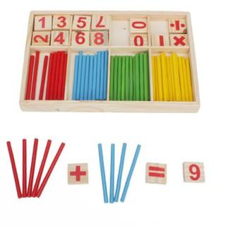[XẢ KHO GIÁ SỐC] dụng cụ học tập cho bé -Bảng gỗ que tính và chữ số cho bé | Bán Chạy