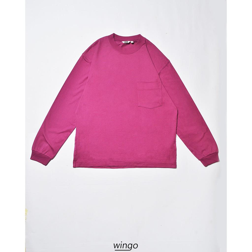 Áo Nỉ Sweater Uniqlo Purple