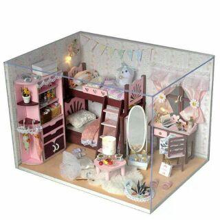 Mô hình nhà gỗ búp bê dollhouse DIY – TW5 My Best Friend