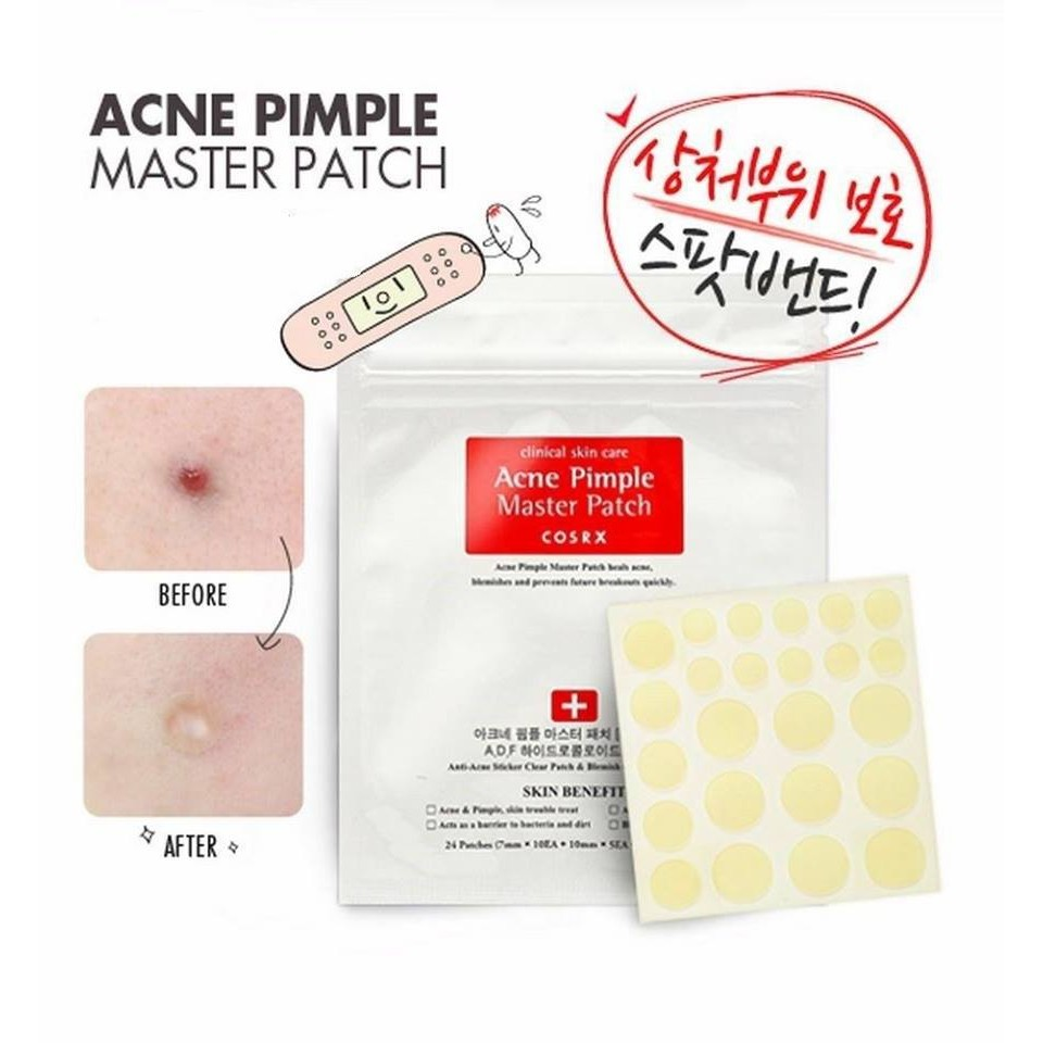 Miếng dán mụn ACNE PIMPLE MASTER PATCH – Cosrx