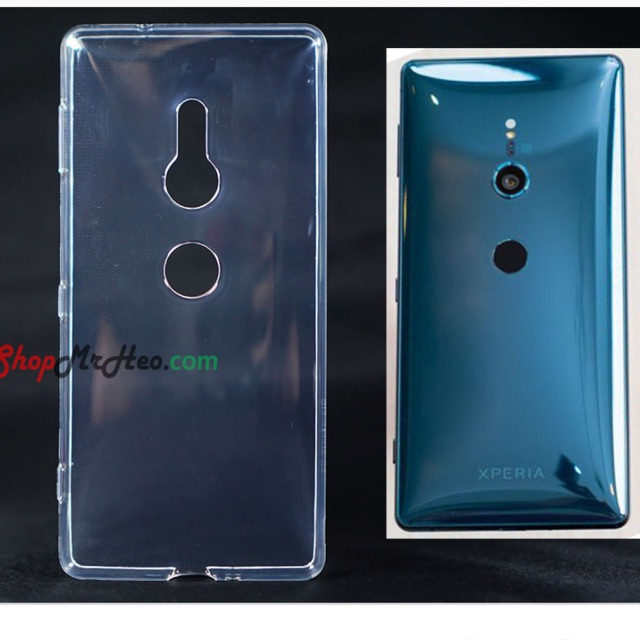 Ốp lưng Sony XZ2 silicon dẻo trong suốt ( Loại tốt )
