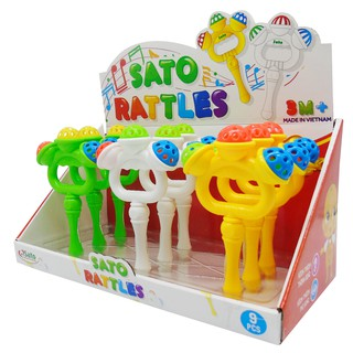 [RẺ VÔ ĐỊCH] Bộ đồ chơi hộp xúc xắc Sato bằng nhựa an toàn cho bé ( SATO 030 )