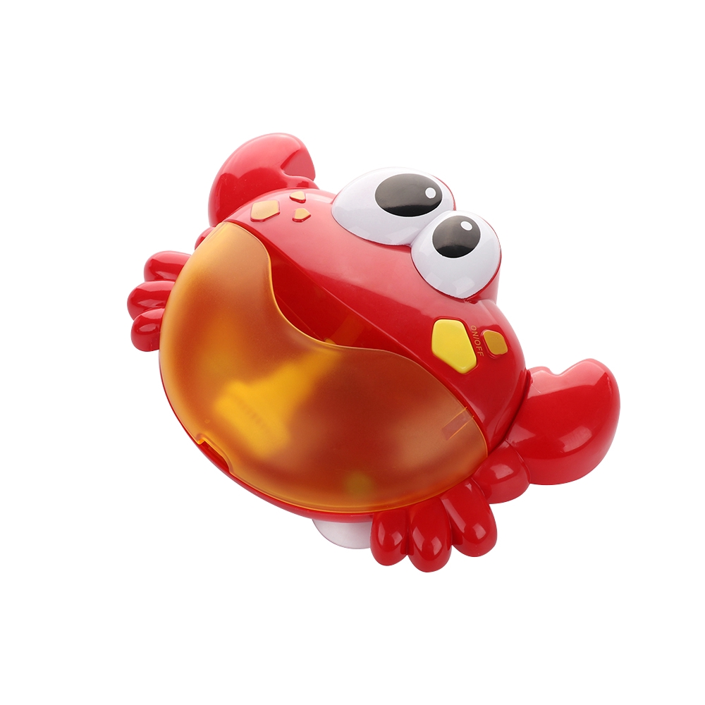 %$Kid Water Toys Crab Bubble Machine Bathroom Toy Electric Bubble Maker Baby Toy