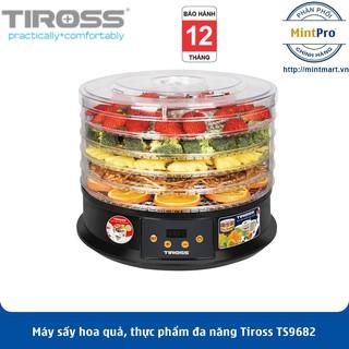 Máy sấy hoa quả, thực phẩm đa năng Tiross TS9682 - Hàng Chính Hãng