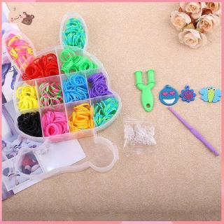 【promotion】Rabbit Boxed Loom Band DIY Bracelet Weaving Machine Colorful Rubber Band