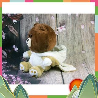 Gấu bông gấu Oenpe brown mặc áo lên ngộ nghĩnh Cao Cấp